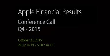 Ya hay fecha para la próxima rueda de prensa de resultados financieros: 27 de octubre