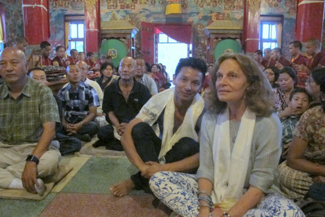 Prabal Gurung Diane Von Nepal