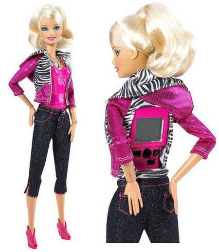 Barbie video cam