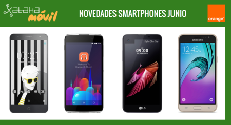 Precios Alcatel Idol 4, Alcatel Pop 4+, Samsung Galaxy J3 (2016) y LG X Screen con Orange