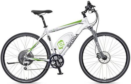 Skoda presenta su primera bicicleta eléctrica
