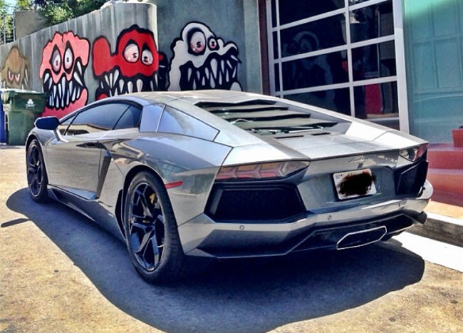 Lamborghini Aventador de Chris Brown