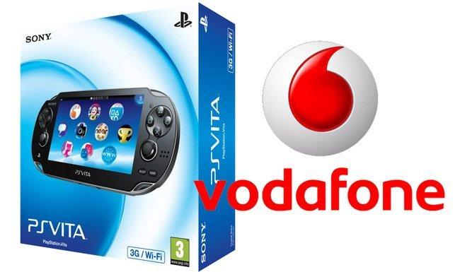 PS Vita con Vodafone