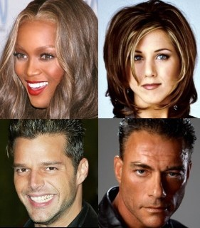 Tyra, Jenny, Ricky y Van Damme