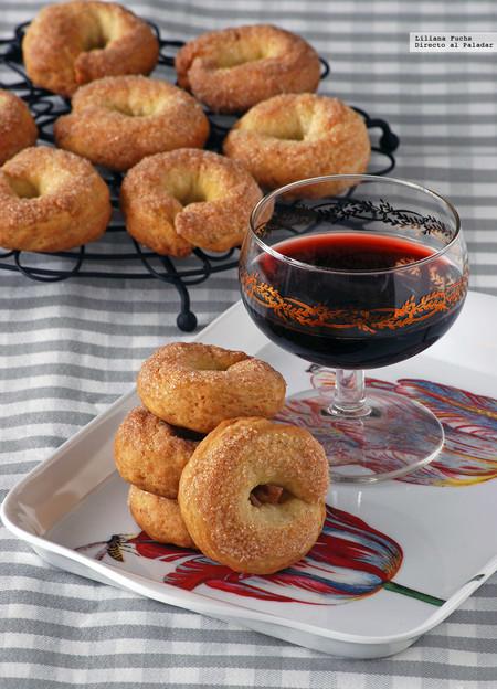 Rosquillas de vino blanco, aceite y limón: receta para una sobremesa dulce