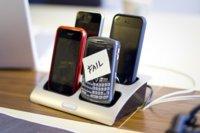 Tropezón fatal de Blackberry por segundo día consecutivo