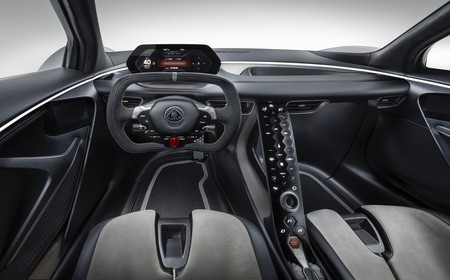Lotus Evija Interior 3