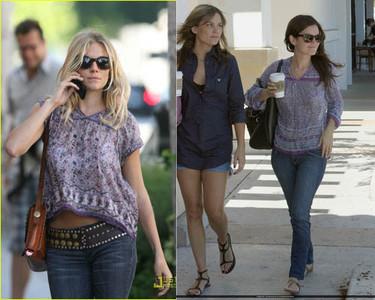 Rachel Bilson y Sienna Miller, ¿quién viste mejor al estilo folk?