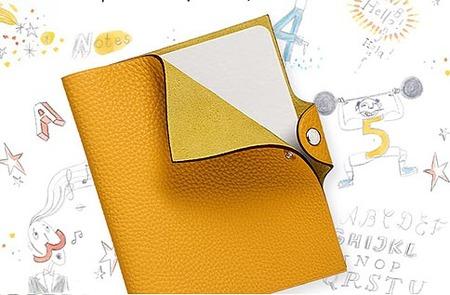Cuadernos de viaje de Hermès