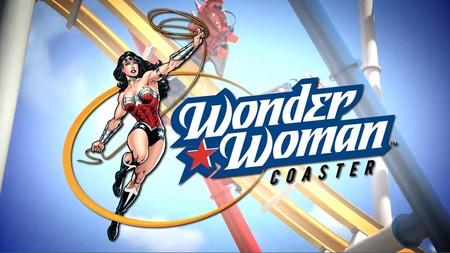 La primera montaña rusa 4D en México será 'Wonder Woman Coaster' que llegará a Six Flags México en 2018