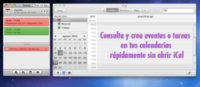 Today 2.0, consulta y crea eventos el iCal rápidamente