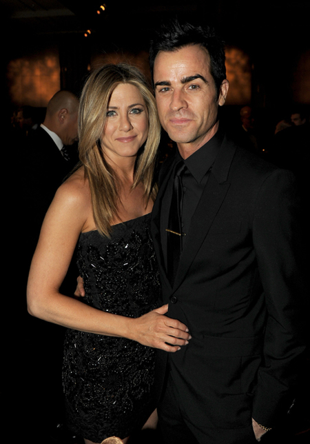 Jennifer Aniston y Justin Theroux 64th Annual Directors Guild Of America Awards