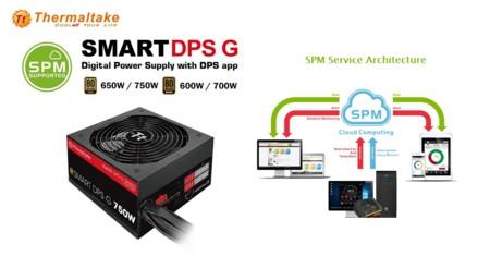 Thermaltake ofrece monitoreo en la nube con fuentes de poder Smart DPS-G Gold y Bronze