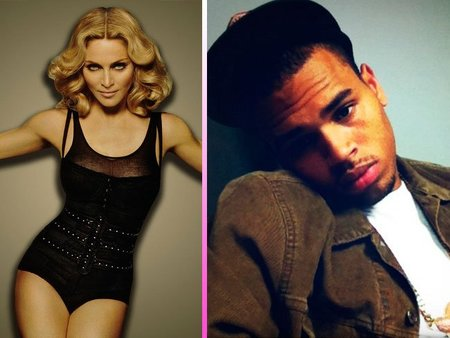 madonna-y-chris-brown