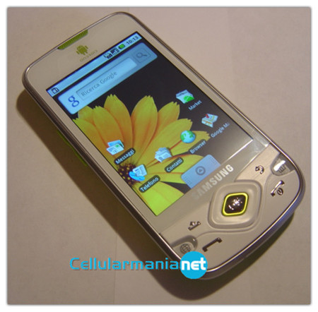 Samsung i5700 Galaxy Spica, nuevas imagenes