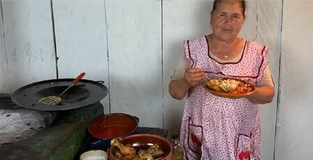 Receta para preparar enchiladas de Doña Ángela de Mi Rancho a tu Cocina
