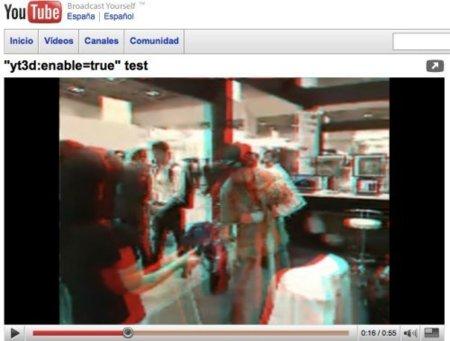 Youtube en 3D
