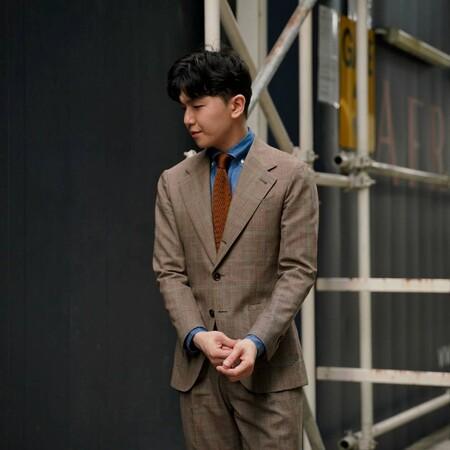 El Mejor Street Style De La Semana Brown Suit Trendencias Hombre 07