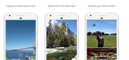 Motion Stills: crear GIFs es sencillo con la app de Google que llega ahora a Android