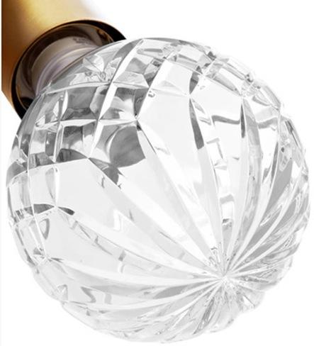 bombillas cristal tallado 2