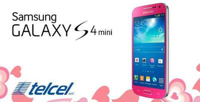 Samsung Galaxy S4 Mini ahora en color Rosa