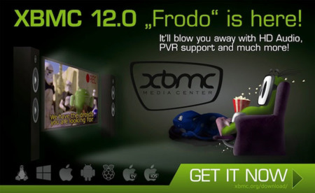 "XBMC 12.0 ""Frodo"", ya disponible la versión final para Android"