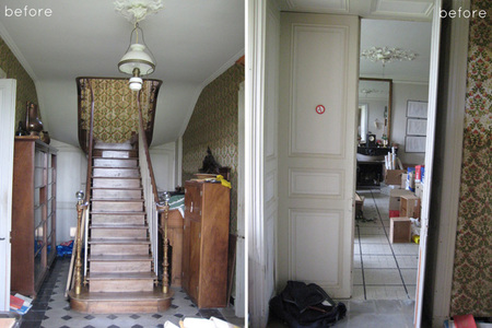 Antes y después: restaurando una villa francesa