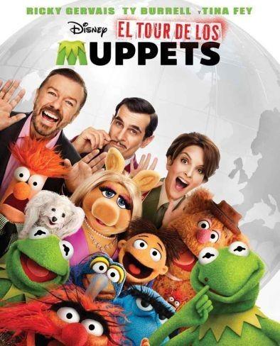 Cartel de Los Muppets 2