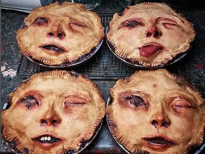 Tartas terroríficas que parecen personas