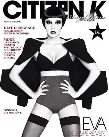 Eva Longoria irreconocible en la revista Citizen K