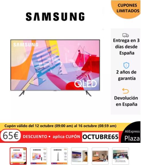 "Samsung Q60TA de 55"""
