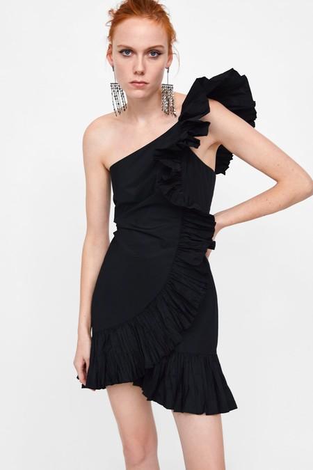 Vestido Zara Fiesta Lbd 12