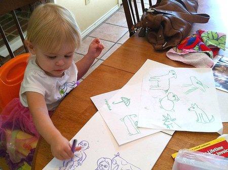 Cómo conseguir que los niños pierdan el interés por dibujar en cinco pasos (III)