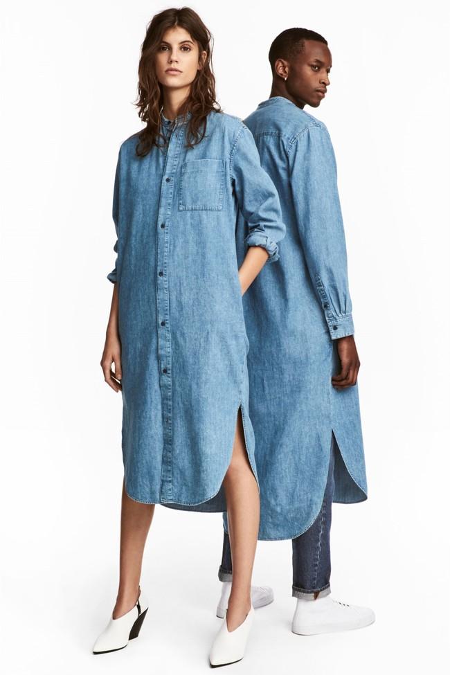 La camisa-vestido, la prenda más llamativa de la nueva colección unisex de H&M