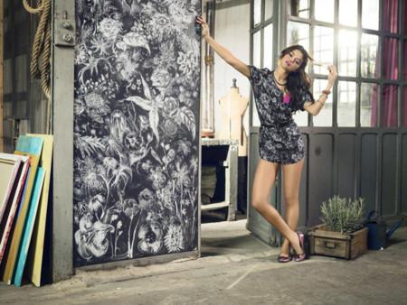 Mono Selena Gomez para Adidas Neo primavera-verano 2014