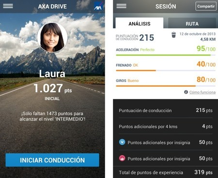 AXA Drive app 02