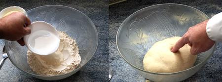 elaboración de la masa