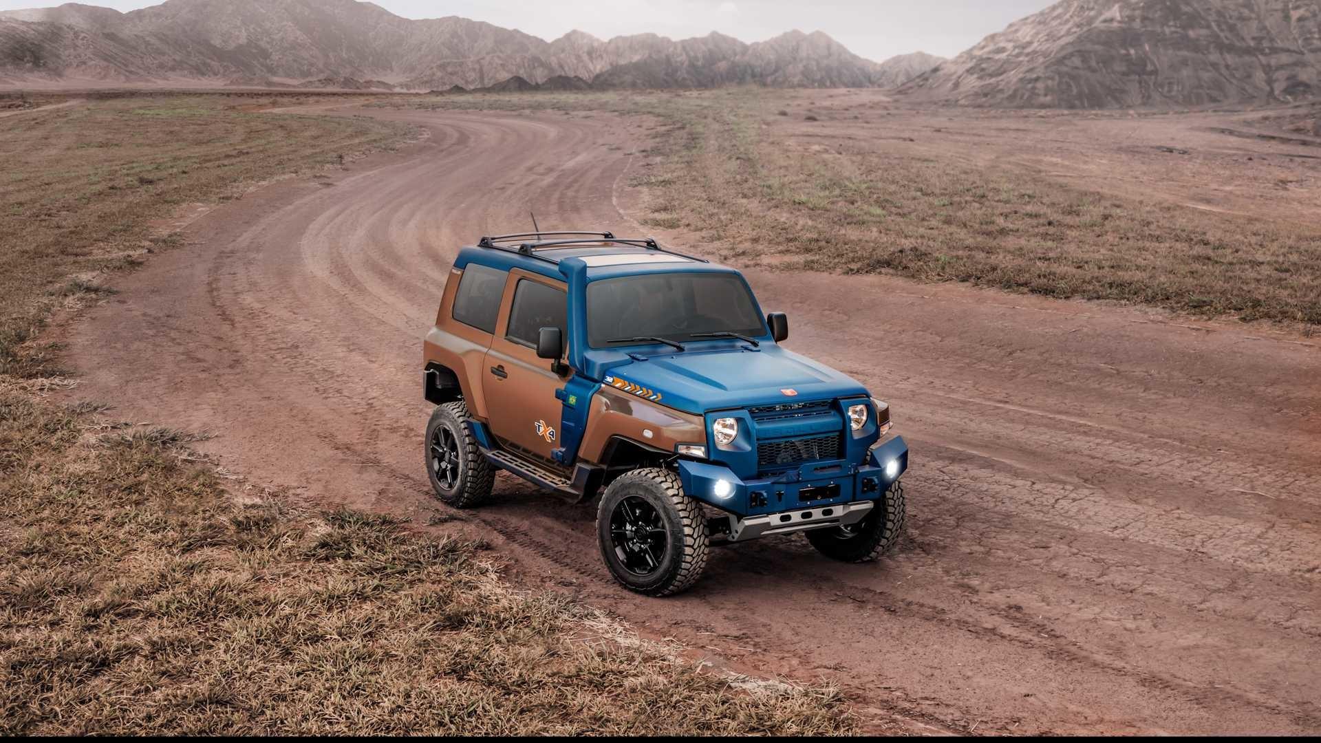 Foto de Troller TX4, el rival del Jeep Wrangler (34/43)