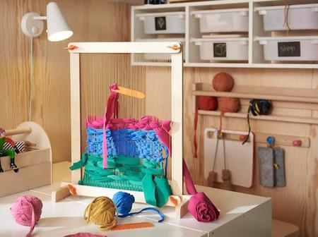 Lustigt 7 Piece Weaving Loom Set 0730606 Ph158447 S5