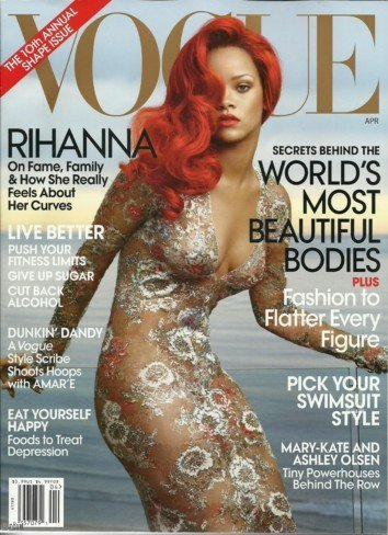 A la primera va la vencida. Rihanna portada de Vogue América