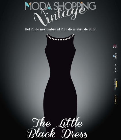 Lorenzo Caprile hace un homenaje al LBD vintage en Moda Shopping