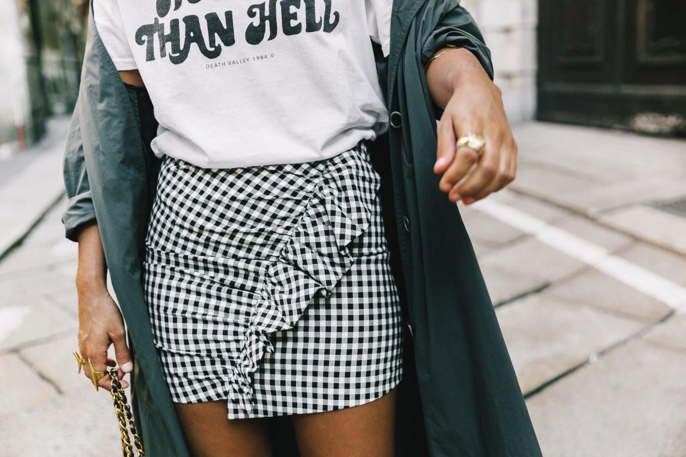 5e5787357 Las (mini)faldas de Zara que están arrasando en Instagram