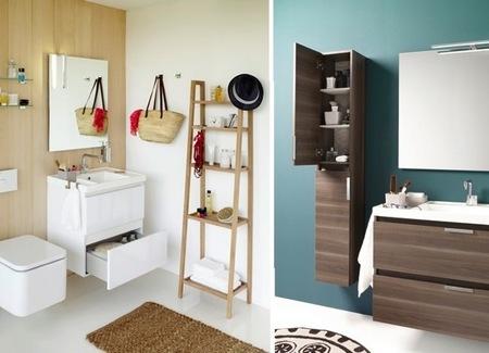 B-BOX, colección de muebles para aprovechar el espacio en el cuarto de baño