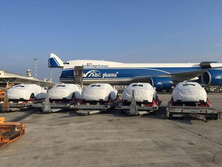 Maserati Quattroporte Air cargo