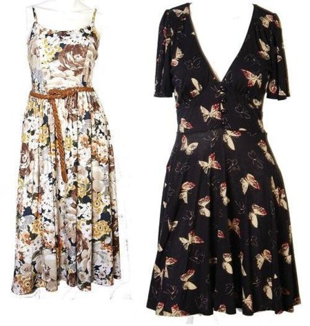 vestidos flores primark