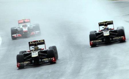 Lotus Renault GP mantendrá el negro y dorado para 2012