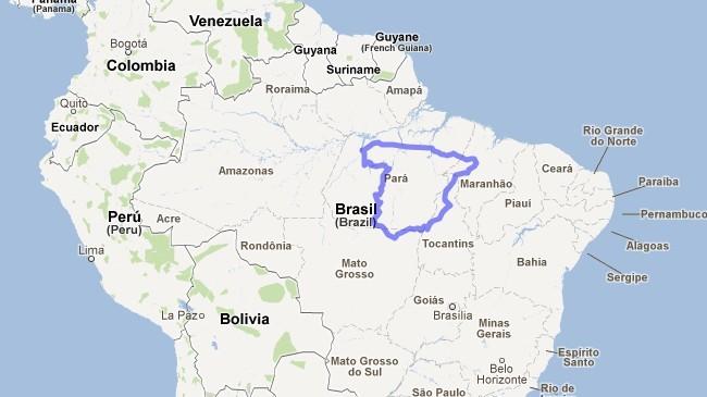 Compara el tamaño de tu país, región o ciudad con otro de cualquier parte del mundo con Mapfrappe