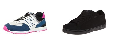 Chollos en tallas sueltas de zapatillas New Balance, Etnies y Jack & Jones en Amazon