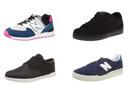 Chollos en tallas sueltas de zapatillas New Balance, Etnies y Jack & Jones en Amazon