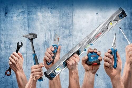 Ofertas en herramientas Bosch Professional en Amazon: llaves fijas, lijadoras o niveles láser a mejor precio